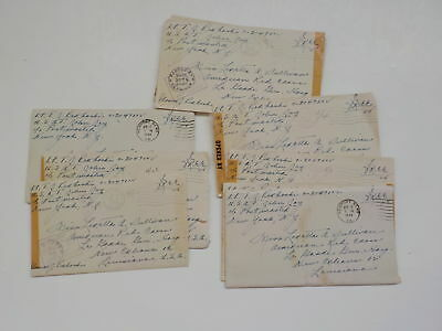 12 WWII Letters 326th Glider Infantry USAT John Jay New Orleans Louisiana WW2