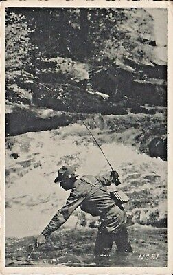 1941 Trout Fishing in the Moutains near Asheville, NC North Carolina PC