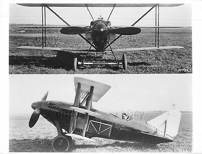 Vintage Aircraft Photo Curtiss Racer Clarence Coombs C-12 Air Force Image Plane