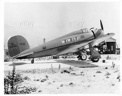 Vintage Aircraft Photo Nc14246 Lockheed Orion 9F-1 Plane Phillips 77 Oil Plane