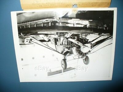 Vintage Aircraft Press Photo Capt Garay Honduras Ss Biboco Plane Crash Rescue 31