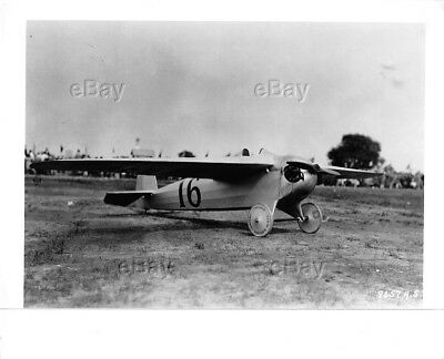 Vintage Aircraft Usaf Photo Heath Sport Plane Tomboy 1926 Air Races Racing Racer