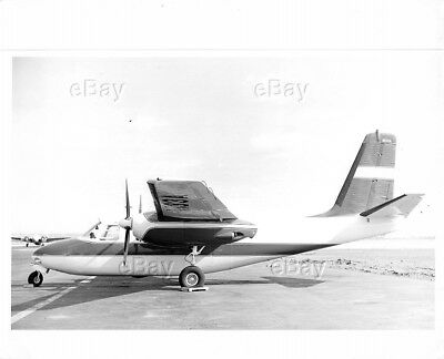 Vintage Aircraft Photo N133A Aero Commander 680Fl Grand Airplane Courser 500 680