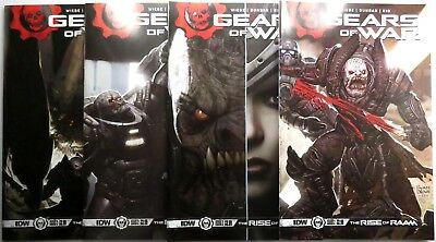 GEARS OF WAR: The Rise of RAAM (4) Issue SET #1 2 3 4 IDW Comic 1st print
