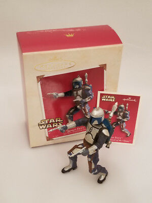 Hallmark Ornament 2002 Jango Fett - Star Wars Episode II - #QXI4386-SDB