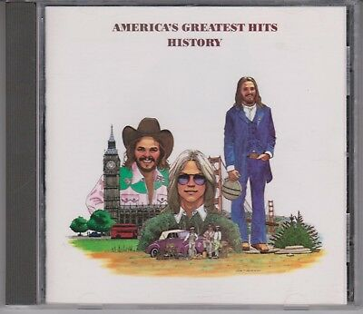 AMERICA Greatest Hits/History CD Horse With No Name Sister Golden Hair 70s Rock