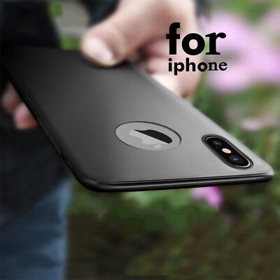 Luxury Ultra Thin Slim Matte Shockproof Soft TPU Case For iPhone XS MAX XR X 8
