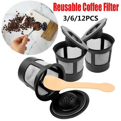 Reusable Coffee Filter Refillable For Keurig My K-Cup  Stainless Mesh Compatible