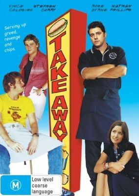 Take Away - Vince Colosimo - New & Sealed Region 4 DVD - FREE POST
