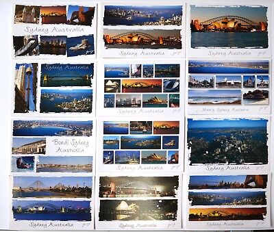 Sydney Australia Postcard set of 12 Postcards
