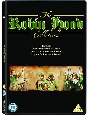 The Robin Hood Collection DVD Box Set Brand New 2018 Region 2