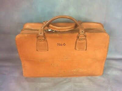 Vintage British Telecom Bt Leather Tool Bag