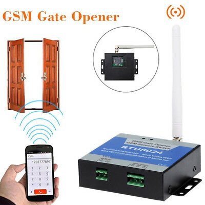 RTU5024 GSM Gate Opener Wireless Remote Control On/Off Switch Free Call SMS RS