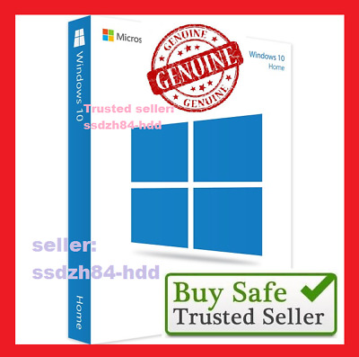 Windows 10 Home key 32 / 64bit Genuine License Key Windows 10 Home product key