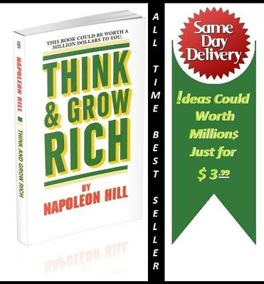 Think and Grow Rich by Napoleon Hill Bestseller Original Manuscript 1937 (PDF)