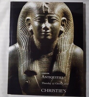 Christies Catalogue Antiquities Oct12 Greek Roman Egyptian + London