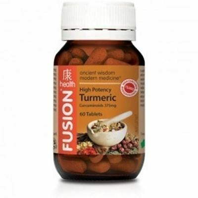 Fusion Health Turmeric - High Strength Anti Inflammatory + Free Shipping