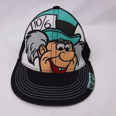 f2c59e5ce04 Mad Hatter Disney Truckers Baseball Cap Embroidered Logo L XL Alice  Wonderland