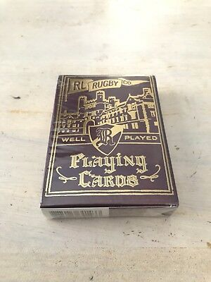Rare Ralph Lauren Rugby Limited Edition Playing Cards