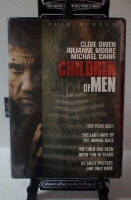 Children of Men NEW DVD FREE SHIPPING!!