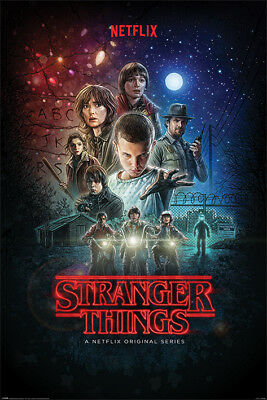 STRANGER THINGS Poster - ONE SHEET - NEW NETFLIX TV SERIES POSTER PP34404