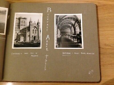 PHOTO ALBUM OF GREAT BRITAIN HOLIDAYS 1930s ~ YORKSHIRE, WALES, COTSWOLDS etc