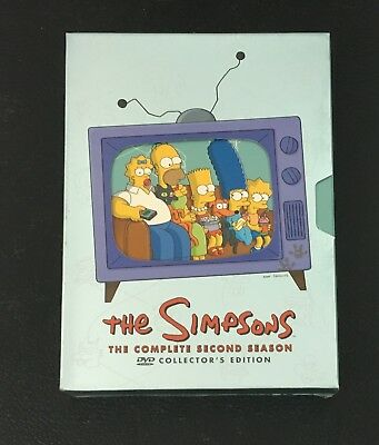 The Simpsons - The Complete Second 2 Season DVD 4-Disc Set, Collectors Ed