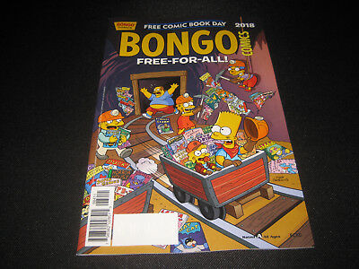 Free Comic Book Day FCBD 2018 BONGO COMICS FREE-FOR-ALL UNSTAMPED The Simpsons