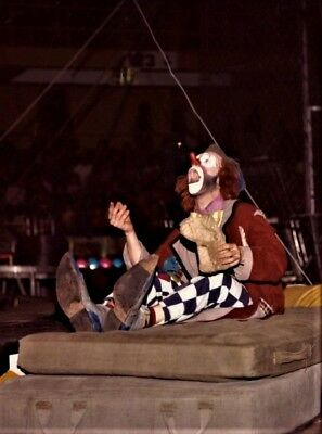 1982 - Ringling Bros. Circus Red Unit - Clown Charlie Frye