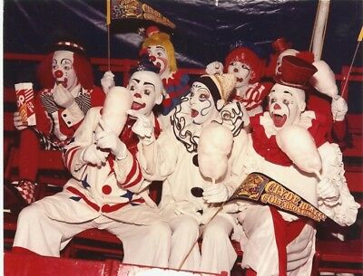1985 - Clyde Beatty - Cole Bros. Clown Alley