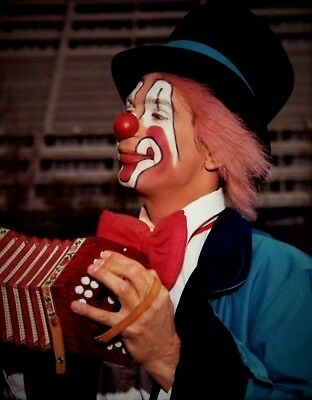 1982 - Ringling Bros. Circus Red Unit - Clown