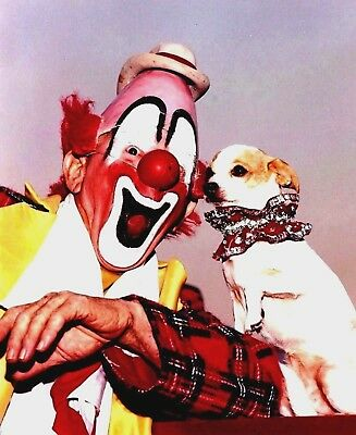 1982 - Ringling Bros. Circus Red Unit - World Famous Clown Lou Jacobs
