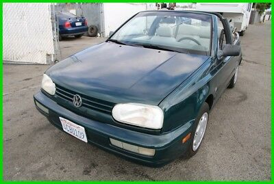 1998 Volkswagen Cabrio GL 1998 Volkswagen Cabrio GL Convertible Automatic 4 Cylinder NO RESERVE