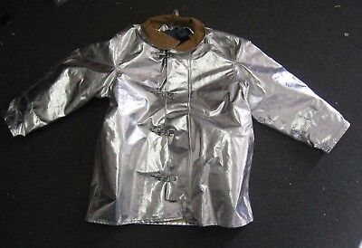 FireDex Firefighter Proximity Jacket Size 48 x 35 R Aluminized Turn Out