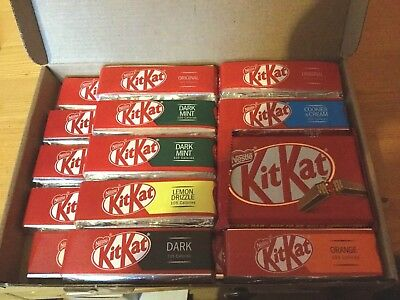 Nestle Kitkat Selection Box, 19 Bars In Total, British Chocolate, Free Uk P&p