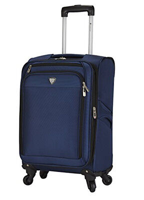 c9224caa070c Travelers Club Luggage Monterey 18 Inch Expandable Softside Rolling Carry-on