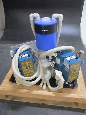 NEW Techwest Vplg6d2r Dental Vacuum Pump System for Operatory Suction