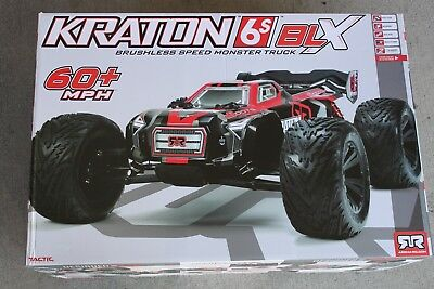 *NEW* Arrma 2018 Kraton 1/8th Scale 6S 4WD Truggy R/C Truck Brushless AR106029