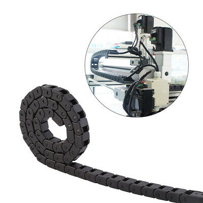 New 1M Plastic Cable Drag Chain Wire 10x20mm Open On Both Side Plastic Towline