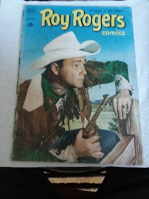 1951 Roy Rogers Comic Dell Western