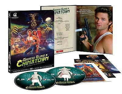 Dvd Grosso Guaio A Chinatown (2 Dvd+Booklet)