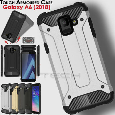 Samsung Galaxy A6 2018 SM-A600F TOUGH ARMOURED Shock Proof Protective Case Cover