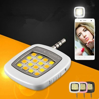 Universal Selfie Portable Led Camera Phone Ring Light Enhancing Photography