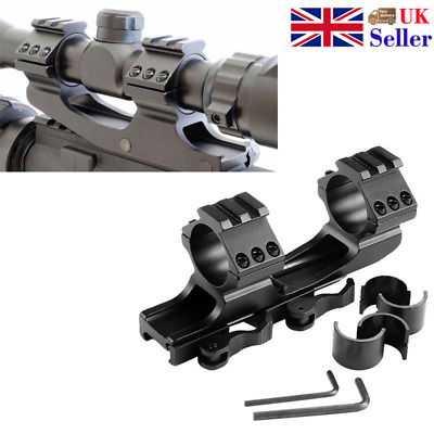 Quick Release 25.4/30mm Quick Release Dual Ring Cantilever Weaver Scope Mount