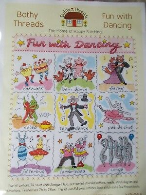 "Cross stitch Kit Bothy threads ""Fun with Dancing "" by Bothy Threads"
