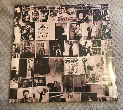 THE ROLLING STONES 2 LP gatefold.EXILE ON MAIN ST. Reissue.ROCK VINYL.NEW SEALED