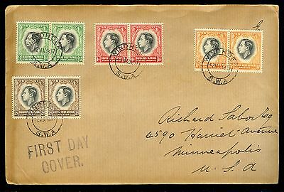 (1937) South West Africa - 1st Day Cover -