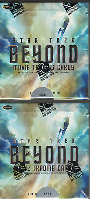 Star Trek Beyond New Movie Trading Cards - Winner Gets 2 Factory Sealed Boxes