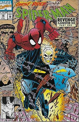 Spider-Man No.18 / 1992 Revenge of the Sinister Six / Ghost Rider / Erik Larsen