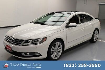 2015 Volkswagen CC Executive Texas Direct Auto 2015 Executive Used Turbo 2L I4 16V Automatic FWD Sedan